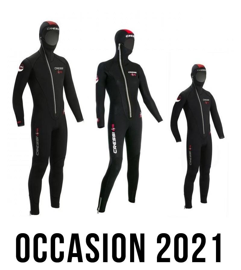 Combinaison Cressi Diver 5mm - Occasion 2021
