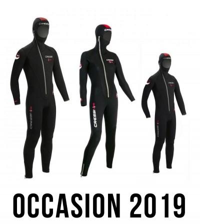 Combinaison de plongée CRESSI DIVER 5mm - Homme / Femme / Enfant - Occasion 2019 - garantie 6 mois
