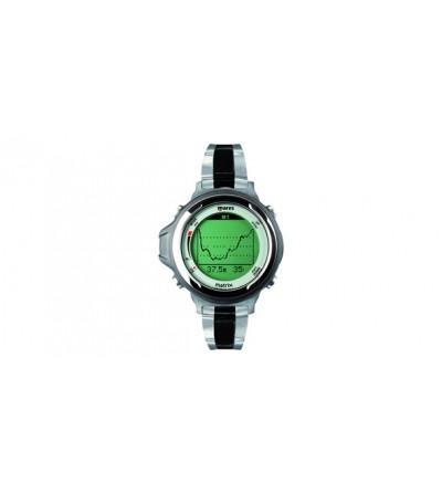 Bracelet métal noir en option pour Montre ordinateur de plongée Mares Matrix