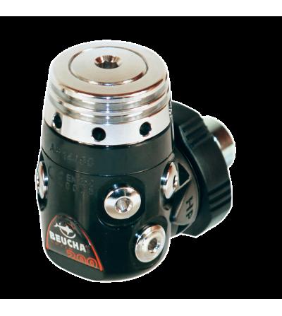 Détendeur compensé de plongée Beuchat VR 200 Soft Touch HF adapté à la plongée en eau froide avec flexible tressé
