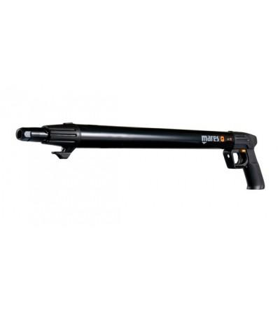 Fusil harpon à air comprimé de chasse sous-marine Mares Pure Instinct Jet 70cm WP avec canne de 13mm et réglage de la puissance