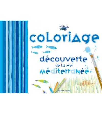 Coloriage Découverte de la mer Méditerranée