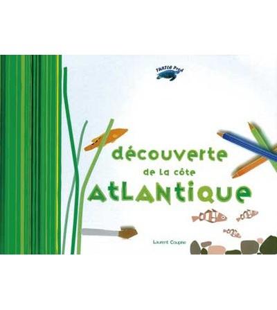 Carnet de coloriage Découverte de la côte Atlantique