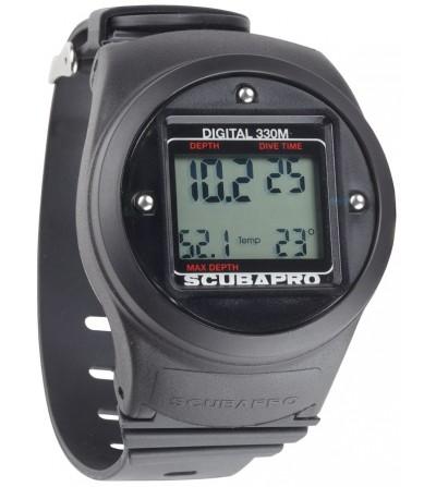 Le Profondimètre Scubapro Digital 330m est unique en son genre et conviendra au plongeur TEK comme au débutant ou en secours