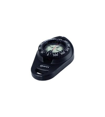 Compas modulaire et anti-choc, la Boussole Pratique Mares peut s'attacher au gilet stabilisateur ou un enrouleur