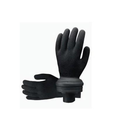 Gants étanches Scubapro Easy-Don en latex vulcanisé pour vêtement sec, combinaison semi-étanche ou humide