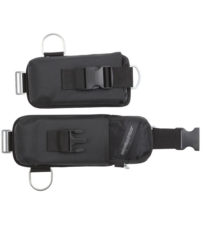 Paire de poche à lest à largage rapide pour gilet TEK Scubapro X-TEK