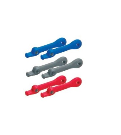 Paire de Power bands Aqualung pour palmes de plongée HOT SHOT & SLINGSHOT - Rouge, bleu ou gris