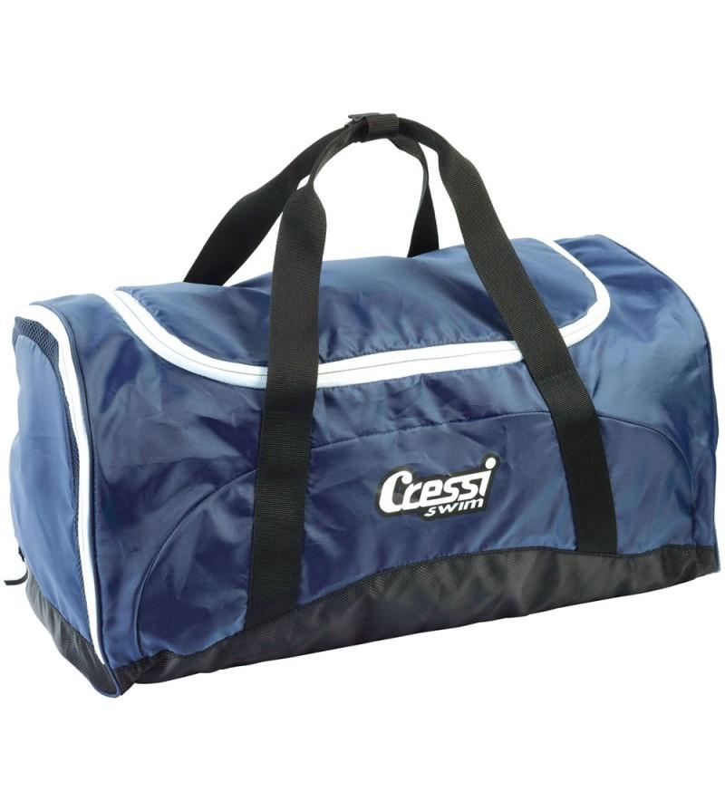Sac en Nylon robuste Cressi Swim Bag pour le transport de votre matériel de piscine et natation même mouillé