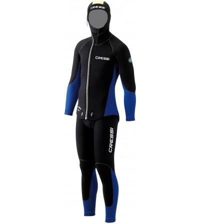 Combinaison de plongée humide 2 pièces Cressi Medas épaisseur 5mm - Veste + pantalon salopette - modèle homme