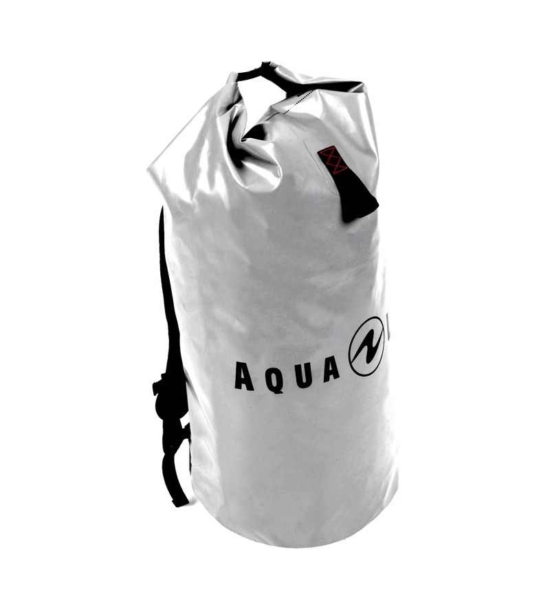Sac à dos étanche & solide Aqualung Defense 50L gris pour garder au sec vos vêtements ou transporter votre matériel mouillé