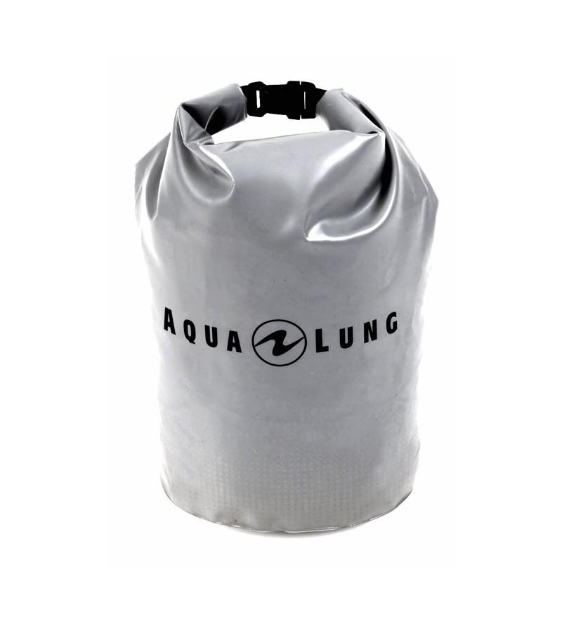 Petit sac étanche Aqua Lung Defense 16 litres en tarpaulin gris pour protéger votre petit matériel
