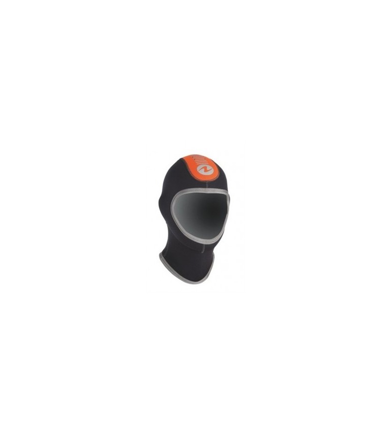 Cagoule ergonomique unisexe Aqua Lung Dive en néoprène 5mm pour compléter les combinaisons sans cagoule Dive homme et femme