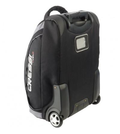 Sac Cressi Vuelo trolley à roulettes avec poignée télescopique idéal pour les voyages en avion grâce à son volume réduit