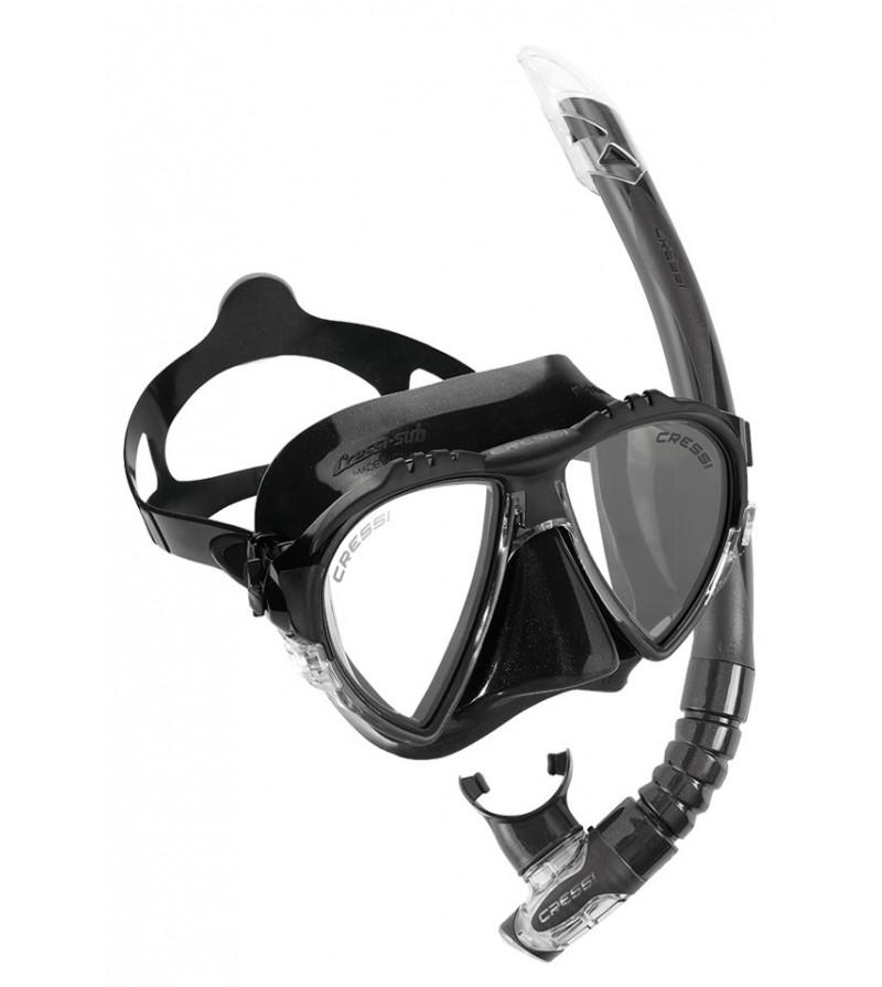 Pack Cressi masque Matrix tuba Gamma