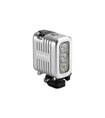 Lampe à LED Knog Qudos Action couleur Argent pour éclairage Photo / Video sous-marine et sports