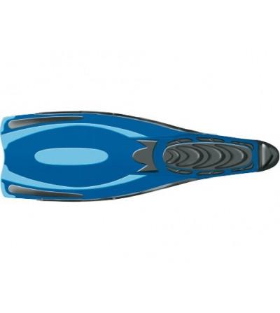 Palmes chaussantes de plongée Cressi Reaction Pro pour l'apnée, la nage & la plongée. Disponible en noir, bleu ou jaune
