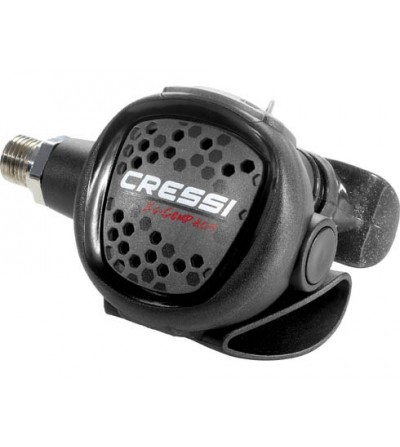 Détendeur compensé de plongée très léger Cressi MC9 XS Compact version DIN 300 bars