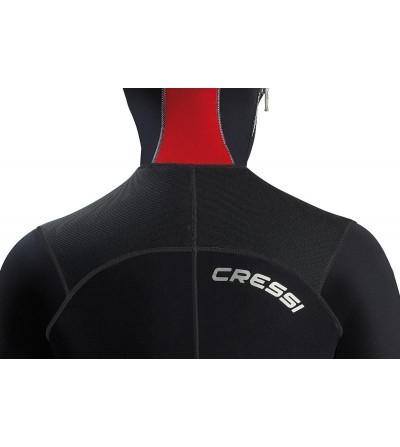 Combinaison de plongée humide monopièce avec cagoule attenante Cressi Diver épaisseur 7mm - Modèle homme