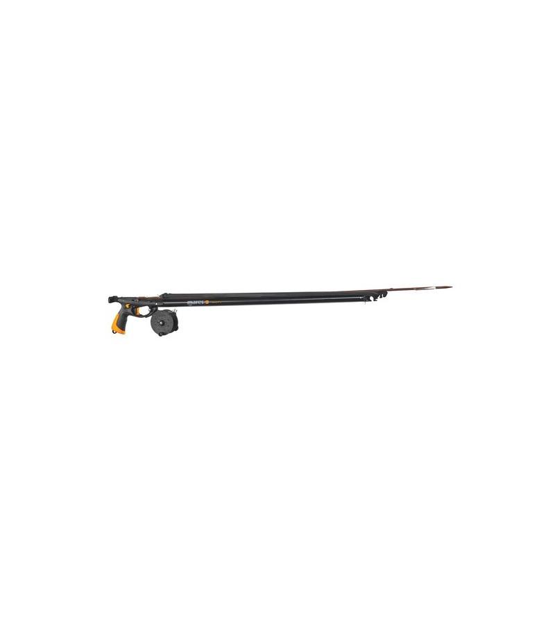 Arbalète de chasse sous-marine Mares Pure Instinct Viper Pro 90cm avec canon de 28mm et flèche de 6.5mm