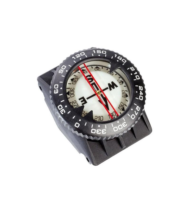 Boussole de poignet Cressi Compas avec kit bracelet et fixation sur gilet stab