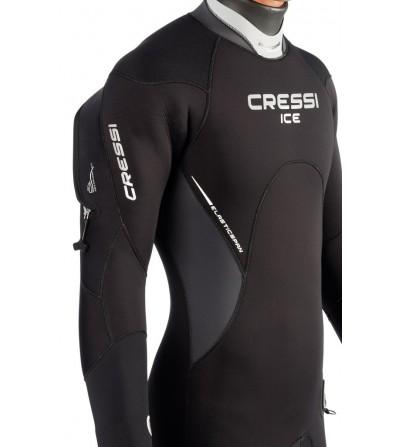Combinaison de plongée semi étanche Cressi Ice en néoprène épaisseur 7mm - Modèle homme 2016 - Très facile à enfiler