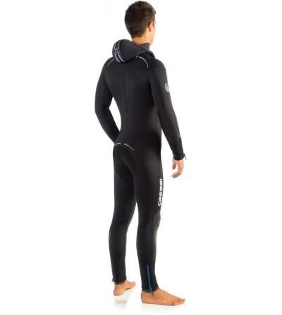 Nouvelle version 2016 de la combinaision humide de plongée Cressi Facile 7mm avec cagoule attenante - Modèle homme