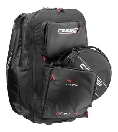 Nouveauté 2016 - Sac détendeur rond Cressi 360 - Parfait pour les voyages et adapté au sac Moby 5.