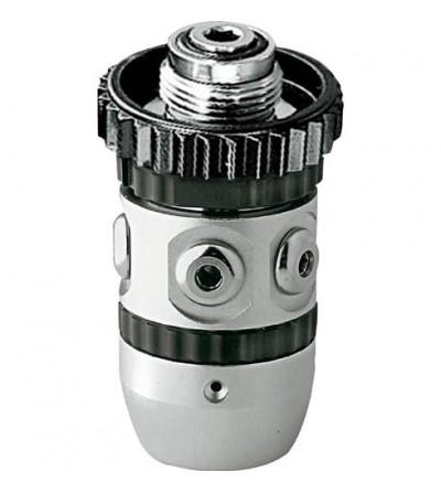 Détendeur de plongée à piston classique Cressi XS2 AC2 en version DIN 300 bars. Le plus économique de la gamme.