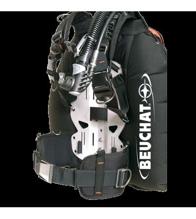 Gilet Stabilisateur de plongée TEK Beuchat Masterlift Tek à grand volume compatible bi-bouteille