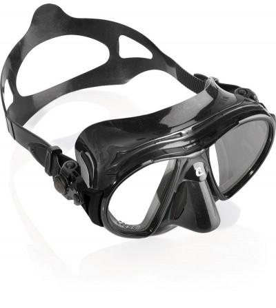 Nouveau Masque Cressi Air Black Noir héritier du brevet Nano. Idéal chasse sous-marine, plongée, apnée, nage & snorkeling
