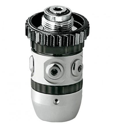 Premier étage détendeur Cressi AC2 DIN non compensé à piston traditionnel