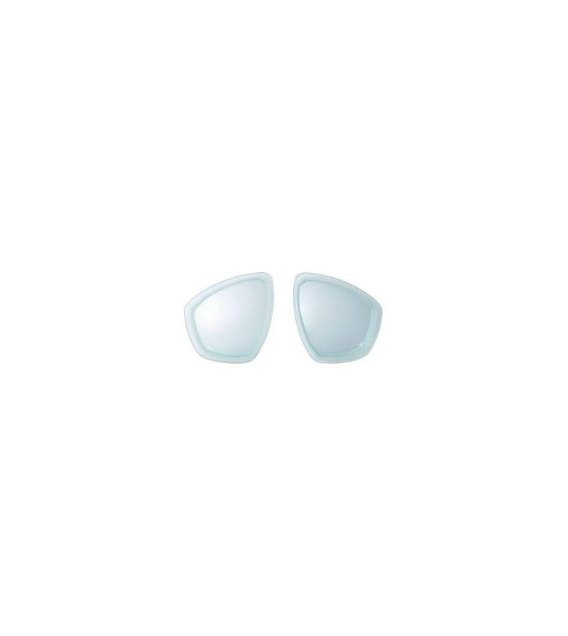 Lentille symétrique pour correction optique des verres du masque Cressi Focus