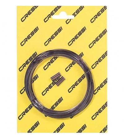 Kit fil Cressi en nylon noir diam 180 µm pour flèche d'arbalète de chasse sous-marine