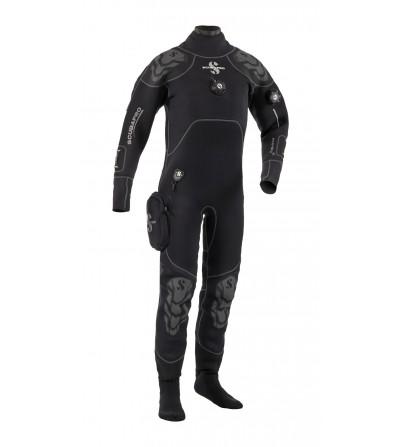 Vêtement sec Scubapro Everdry 4 modèle 2016 pour homme. Le confort d'une combinaison humide pour un vêtement étanche