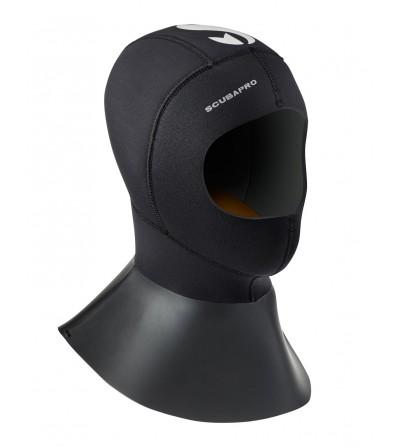 Cagoule néoprène Scubapro Everflex 6mm/5mm 2016 avec plastron pour combinaison semi-étanche