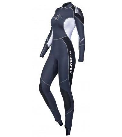 Combinaison de plongée monopièce pour eaux chaudes Scubapro Profile 0.5mm pour femme ou comme sous-combinaison