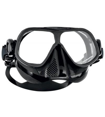 Nouveauté 2016 - Masque deux verres Scubapro Steel Comp Noir spécifique à l'apnée voire la chasse sous-marine