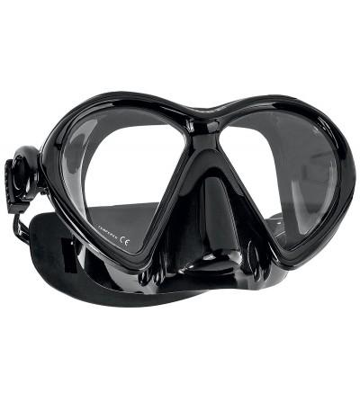 Nouveauté 2016 - Masque deux verres Scubapro Dive 2 avec jupe en silicone et offrant 30% de vision en plus - Noir