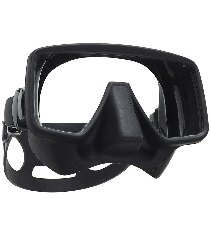 Nouveauté 2016 - Masque de plongée monoverre Scubapro Frameless Gorilla de forme rectangulaire pour un champ de vision excellent