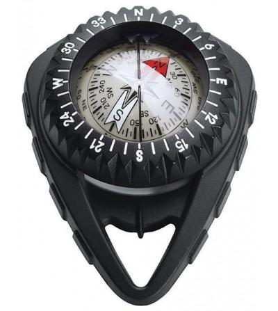 Boussole Compas Scubapro FS2 à bain d'huile facile à lire et conçu pour être accroché à stab avec un enrouleur inclus