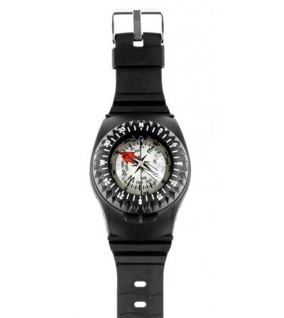 Boussole Compas Scubapro FS2 bracelet à bain d'huile facile à lire et conçu pour être porté au poignet
