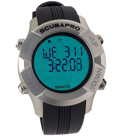 Montre Ordinateur Scubapro Mantis 1.0 à algorithme prédictif multigaz - Plongée, apnée, nage, chasse sous-marine