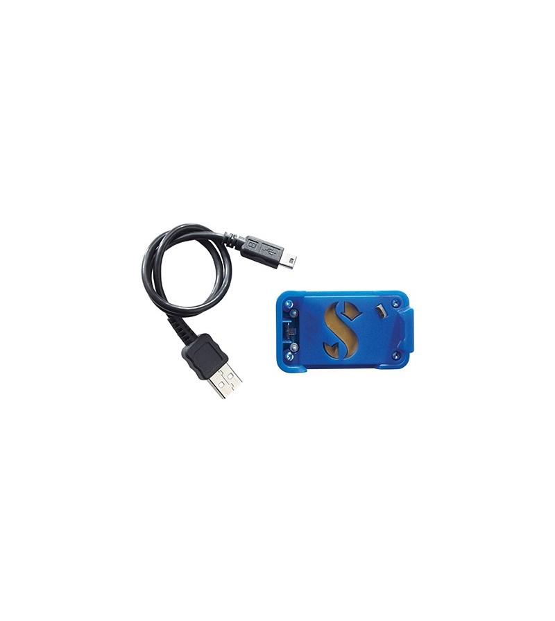 Interface USB pour connecter la montre ordinateur Scubapro Mantis 1.0 à un ordinateur