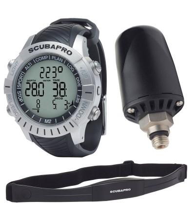 Pack Montre Ordinateur Scubapro Mantis 2.0 (M2) avec cardio-fréquencemètre & émetteur sans fil