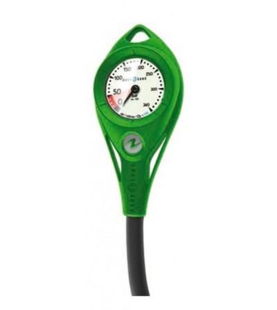 Manomètre Aqualung AL50 300 bars Nitrox / Oxygène à cadran luminescent avec flexible de 91cm