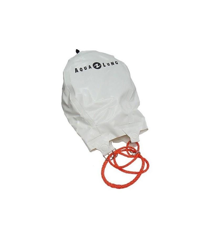 Parachute de relevage avec soupape Aqualung pour le levage de charges jusqu'à 200kg