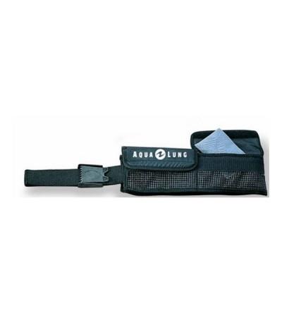 Ceinture Aqualung Soft de lestage à poches avec fermeture velcro pour plombs ou sachets de grenaille
