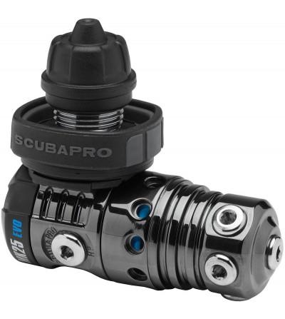 Détendeur MK25 EVO / A700 Carbon Black Tech DIN plus résistant à la corrosion