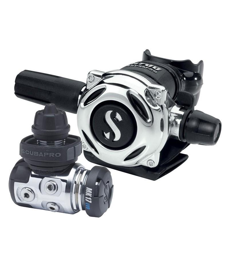 Détendeur compensé de plongée Scubapro MK17 EVO/A700 DIN spécialement approprié pour l'eau froide ou trouble